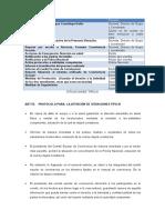 Protocolo Situaciones Tipo III