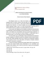 Castany Prado - Breve Historia Del Escepticismo I Los Precursores