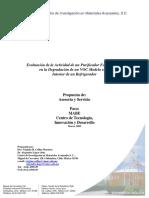 Evaluacion de Recubrimiento Fotocatalitico