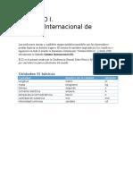 CAPÍTULO I. Sistema de Medición