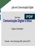 Comunicacao Digital e Etica