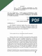 Poe v. COMELEC - Concurring Jardeleza