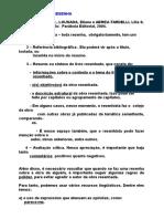4 Resenha - Estrutura e Outros Aspectos - Anna Raquel Machado