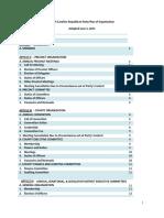 2015 NCGOP Plan of Organization