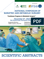 Scientific Abstracts. 2014.National Symposium of Bariatric and Metabolic Surgery