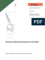 2. NORMA PARA MANEJO DE PACIENTES CON VIRUS ÉBOLA.pdf