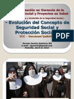 EVOLUCION CONCEPTO SEGURIDAD SOCIAL
