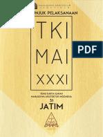 Petunjuk Pelaksanaan Tki-mai Xxxi Jatim Edisi 3