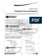 X S4 Productos Notables