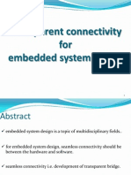 transparent connectivity for embedded system design