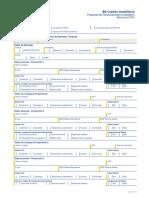 Form 16-Formulário Proposta PMCMV