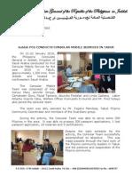 2010-003 PCG Press Release Tabuk Mobile Consular Services