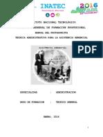 MANUAL PROTAGONIST Tecnica Administrativa Para La Asistencia Genrencial