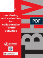 A Guide to ME for Collaborative TB-HIV Activities