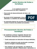Processamento Térmico de Frutas e Hortaliças