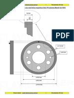 Ferramenta Da Roda Fonica 4LV - 4SV