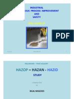 INDUSTRIAL HAZARD STUDY--Spill Clean Up--ED-1,VOL-1