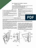 Garage Door Touch Code Transmitter Model 139.53776