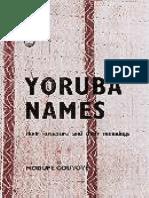 Yoruba-names Modupe Oduyoye
