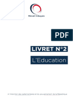 Livret n°2 - L'Education