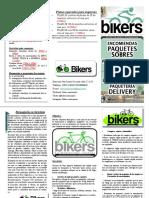 Folleto Bikers