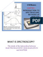 Chapter 1 - Spectroscopy Methods