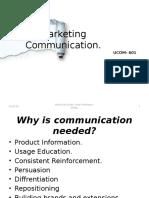 Marketing Communicatons