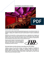 Electrical Installations in Theatres and Performance Venues