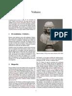 Voltaire La filosofía de Comte se encuentra