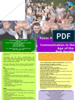 Public Participation and Health Risk Communication in the Age of the Risk Society - Top tips leaflet