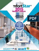 2015 Comfortstar Catalogo