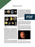 Planeta Terrestre  principios del año 2016 se publicó un estudio según el cual puede existir un noveno planeta en el sistema Solar, al que dieron el nombre provisional de Phattie