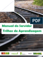 Manual Do Servidor - Trilhas de Aprendizagem