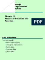 12_Processor Structure and Function