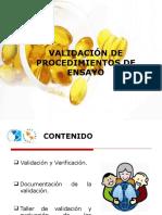 1- Presentación de VALIDACIÓN