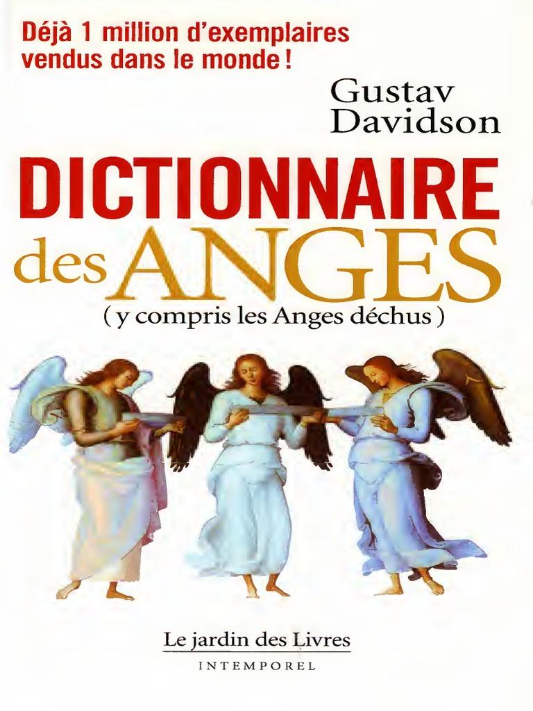 Le Dictionnaire DesAnges Gustav Davidson PDF