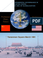 Comparing Environmental Governance in China and the United States