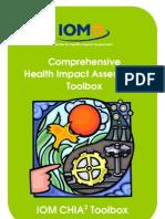 IOM CHIA Comprehensive Health Impact Assessment Tool Box  2008