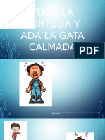 Tuga La Tortuga y Ada La Gata Calmada