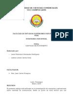 Revision del Manual de calidad de una Empresa