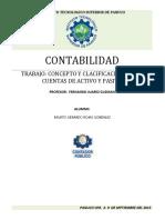 Tarea 1 Concepto y Clacificacion de Las Cuentas de Activo y Pasivo