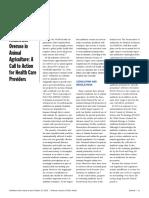 antiobiotics overuse in animal ag