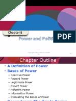 Power Organizational Behaviour