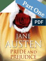 Pride and Prejudice Part One Jane Austen