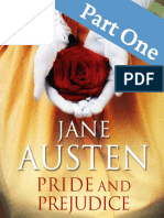 Pride and Prejudice Part One Jane Austen
