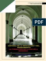 317. HISTORIA DE LA EDUCACION Y DEL PENSAMIENTO