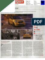 smart forfour 90 cv | Ensaio na revista Autosport