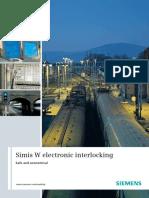 Simis w Electronic Interlocking En