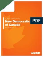 NDP Constitution (2016)