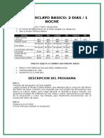 Chiclayo 2016